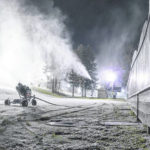With Mother Nature's cooperation, snow-making started early at Snow Trails