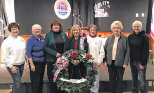 Local DAR chapter attends Veterans Day program