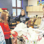 A time for giving: National Honor Society members make life a little brighter