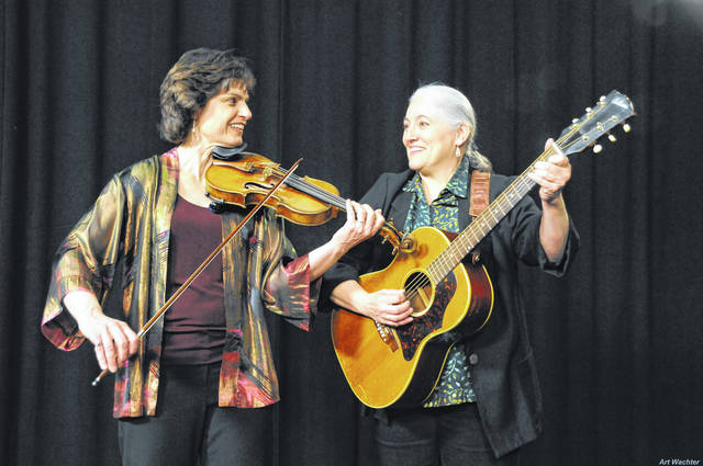 Courtesy photo Simple Gifts will perform Saturday during the Galion Public Library open house, starting at 1 p.m. This award-winning roiup includes two women, who play 12 instruments. A good time is promised. Stop in and visit and enjoy during Saturday's Come Home to Galion celebration.