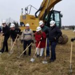 Ground broken for 40-acre residential development in Bellville; First of 68 lots will go on sale next spring