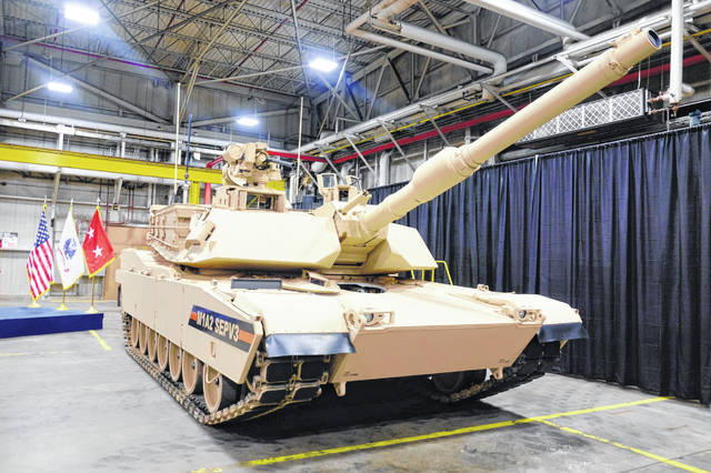 Photo courtesy The Lima News  If the bill becomes law, it will include $1.7 billion in funding for upgrading 165 Abrams tanks and $394 million for upgrading Stryker Vehicles at the Joint Systems Manufacturing Center in Lima, Ohio, also known as the Lima Tank Plant. It will also include $523 million to purchase 152 Stryker A1 vehicles from the same location.