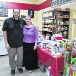 Just south of Bellville, Whittaker's market is thriving