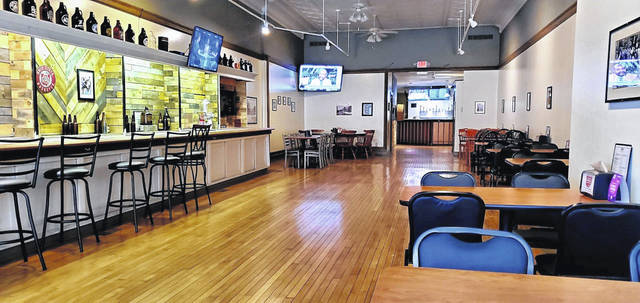 Courtesy photo There is room for all, including an area for live music at the 1803 Brewery & Taproom. An official granding opening on Jan. 18 will include a popular area band, the Crazy Gringos.