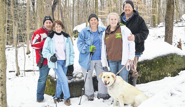 Photo courtesy Richland Public Health This year's Winter Hike for Health is less than a month. There are two hikes, one at Gorman Nature Center, the other at Malabar Farm State Park