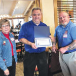 Disabled veterans enjoy luncheon at Golden Corral