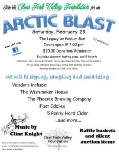 Join the Clear Fork Valley Foundation for an Arctic Blast on Feb. 29