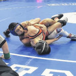 Tigers, Knights in regional duals wrestling action
