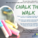 Stay at home: Chalk the Walk!