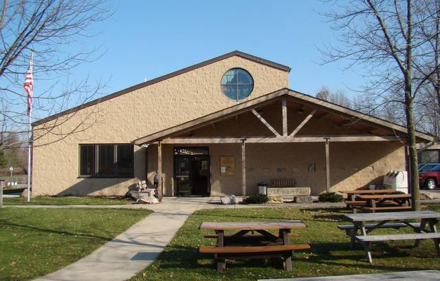 File photo The Nature Center at Lowe-Volk Park is closed through April 12. All Crawford Park District programs are cancelled through April 12, t00. Parks and trails will remain open daily from sunrise to sunset.