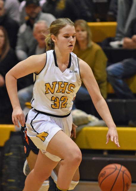 File photo Northmor's Lexi Wenger was a first-team all Knox-Morrow Athletic Conference section in girls basketball. The teams were announced Thursday.