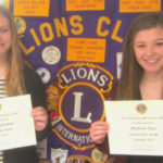 Colonel Crawford students of the month named