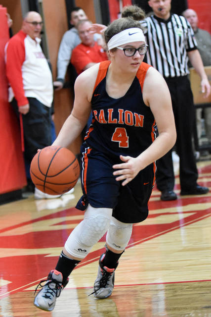 File photo Galion's Teanna Greter was named to the Division II honorable mention squad last week as the Northwest District announced its all-district honors.