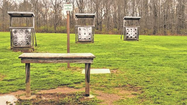 Pictured is the Delaware Wildlife Area Archery Range located at 471 County Road 21, Ashley.