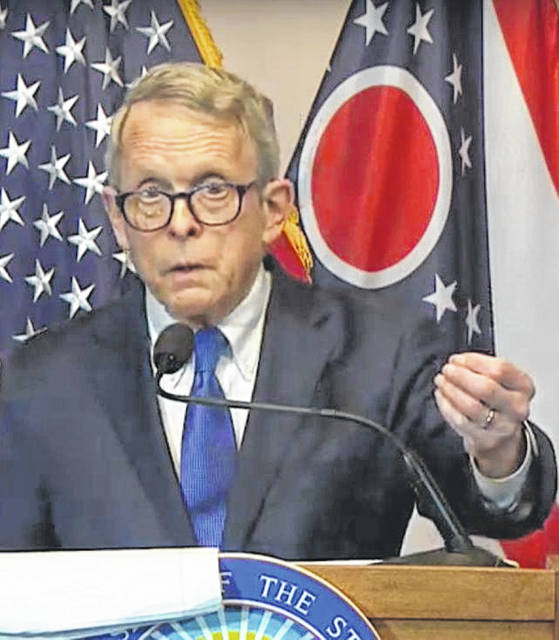 Ohio Gov. Mike DeWine announced the extension of the state's stay at home order through May 1.