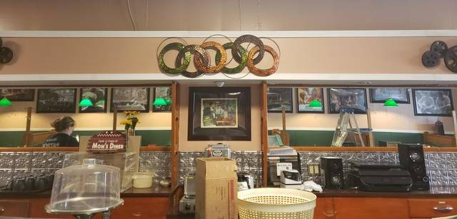 Courtesy photo When Galion's Whistle Stop Cafe opens up again, regular customers will notice some changes, including a makeover of the bar area. Owner Charlotte Larson took advantage of a mandated closure to do a little remodeling.