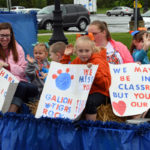 Gallery: Reverse parade Thursday at Galion City Schools; Photos by Don Tudor