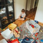 Declutter your child's room to make way for play