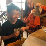 A family affair: Galion grad's husband, kids spent COVID-19 down time making face masks