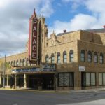 Historic Palace Theatre in Marion showing movies once again