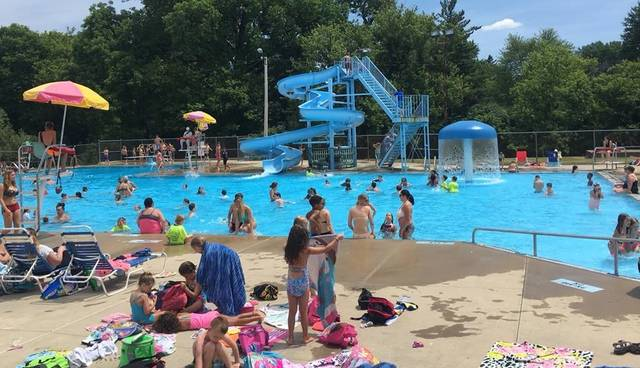 Photo courtesy Galion YMCA Facebook page The pool in Heise Park and the splash park facility in Galion will open for business Saturday. Visitors should be aware that restrictions based on COVID-19 must be adhered to.