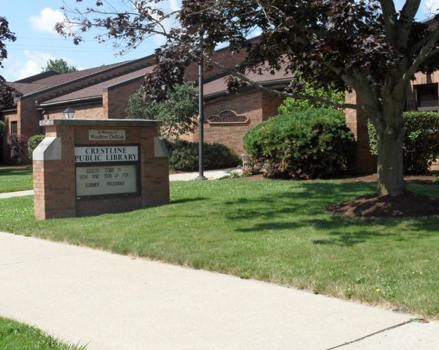 File photo Crestline Public Library will open to the public on Monday, June 15, with COVID-19 restrictions in place.