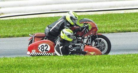 File photo Vintage bikes, with sidecars, are not an unusual site during Vintage Motocycle Days at Mid-Ohio Sports Car Course in Lexington. This year's event has been postponed due to COVID-19 health concerns. A new date will be announced ASAP.
