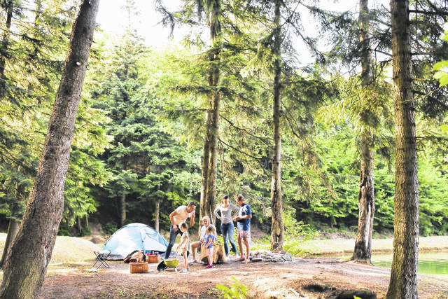 (StatePoint) Photo courtesy Halfpoint iStock via Getty Images Plus From sunrise to sunset, you can make sure every aspect of your camping trip is well-equipped to be the best one yet.