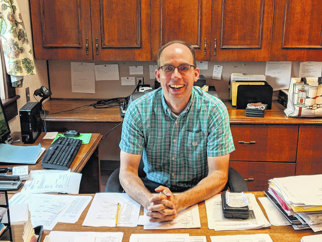 Courtesy photo Mike Kirk is the new director at Galion Public Library. The best part of his job, he said, is helping others find what they need. Stop him and see him now that the library has opened back up to the public.