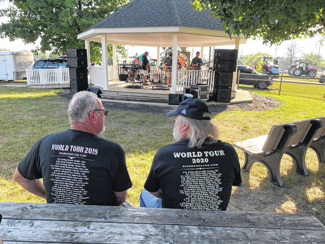 Jodi Myers | Galion Inquirer Rock and Roll music played by Big Red Deluxe pulled in fans to the Crawford County Fair on Wednesday.
