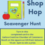 Another shop hop Saturday