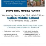 Second Harvist group having another food distribution in Galion on Sept. 23