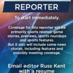 Galion Inquirer looking for a reporter to cover sporting events