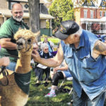 Crawford County seniors, alpacas get up close and personal