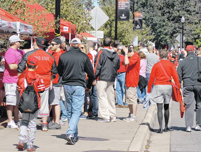 Aim Media Midwest photo  Columbus, Ohio, home of The Ohio State Buckeyes, is one of the great tailgating cities in America. In the wake of the COVID-19 pandemic, most mayors of Big Ten cities are asking the conference to help curtail tailgaters this year.