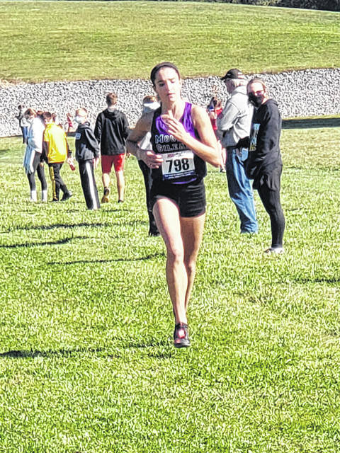 Allison Johnson won her second KMAC championship for Mount Gilead on Saturday.