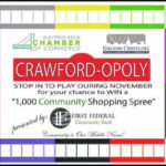 Beginning Nov. 1, Crawford-Opoly
