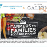 1,400 boxes of food will be passed out Monday in Galion at Heise Park