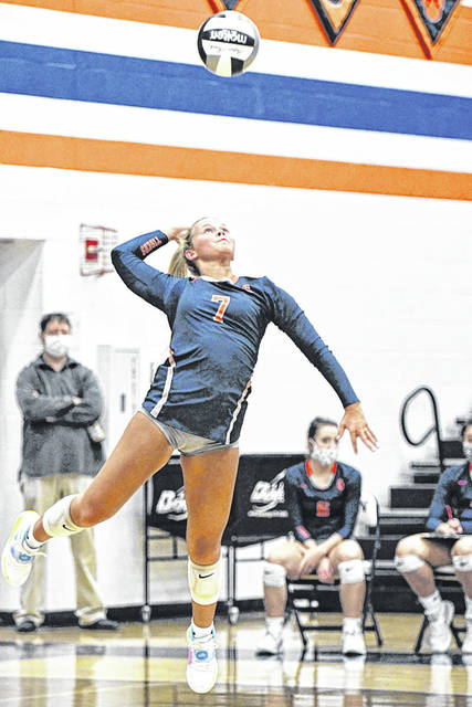 Galion High School senior volleyball player Kayla Hardy has been voted the Mid Ohio Athletic Conference player of the year for 2020. She helped lead the Tigers to their fourth consecutive MOAC title.
