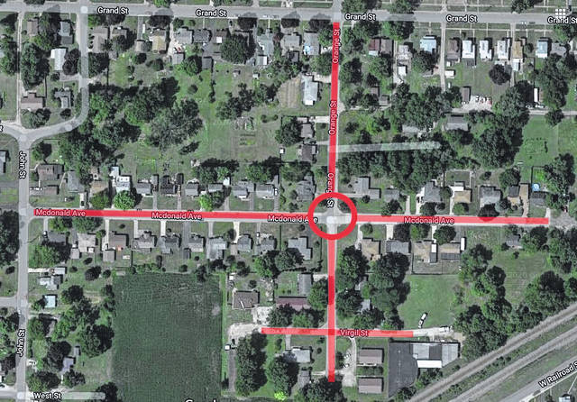 The City of Galion will shut off water service temporarily on Monday, Jan. 11 along McDonald Avenue, Orange Street, and Virgil Street so Service Department crews can replace a waterline joint at the intersection of McDonald and Orange. Service will be shut off at 9 a.m. and be restored by 1 p.m., according to city officials.