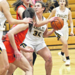 Girls basketball: Eagles top scrappy Bucyrus, 54-22