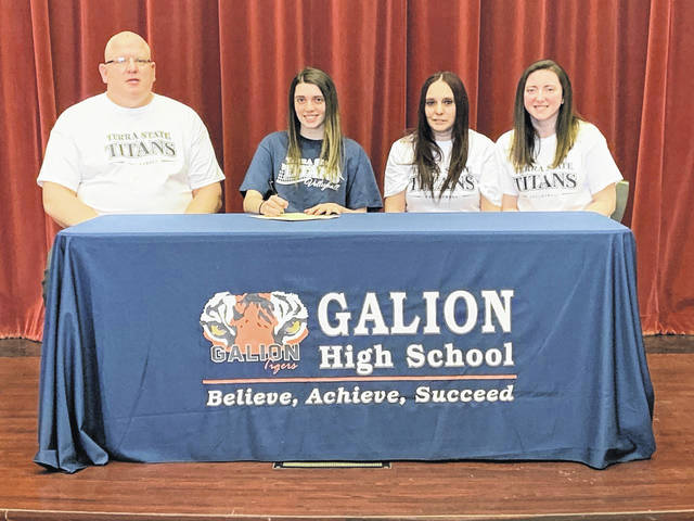 Galion High School volleyball standout Jaden Ivy has signed a letter of intent to continue her athletic career at Terra State Community College in Fremont. Ivy said she plans to major in health administration management at Terra State.