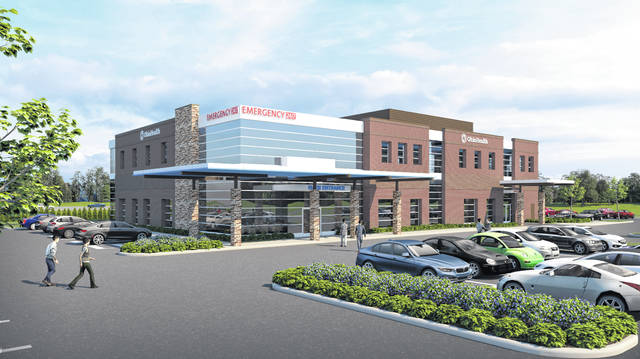 The $14 million OhioHealth Ashland Health Center is now open at 1720 OhioHealth Way near the corner of Ohio 250 and George Road in Ashland. OhioHealth broke ground on the two-story, 22,000-square-foot health center in November 2019. The facility includes emergency services, imaging and lab services on the first floor, and provider practices and rehabilitation services on the second floor. The project will add 50 new jobs to Ashland.