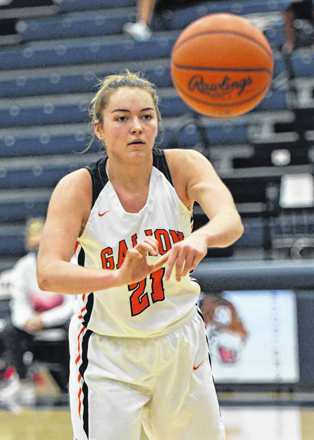 Galion High School forward Natalee Perkins was voted honorable mention All-Northwest District by the Ohio Prep Sportswriters Association.