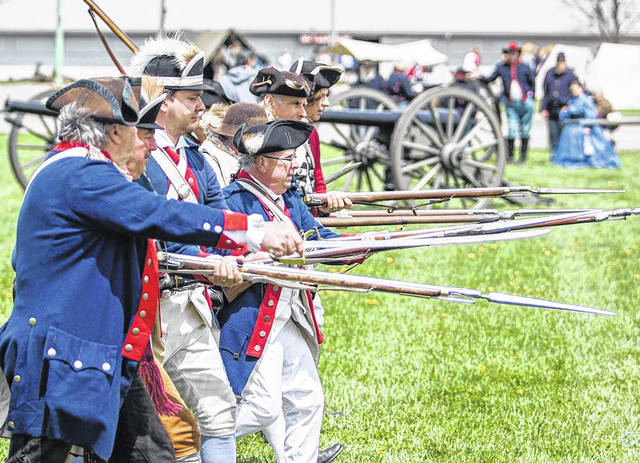 Reenactors will depict events from the Revolutionary War, Civil War, and World Wars I and II are scheduled to participate in the 43rd annual Ohio Civil War and World War I & II Show scheduled for Saturday and Sunday, May 1-2 at the Richland County Fairgrounds in Mansfield.