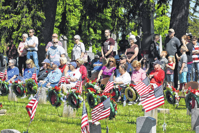 Galion's Memorial Day observance is scheduled for Monday, May 31. Events were delayed and downsized in 2020 due to the outbreak of the COVID-19 pandemic. Organizers are hoping for a return to more normal circumstances for the 2021 activities, which will include the annual parade and ceremony at Fairview Cemetery. This photo was taken during the 2019 observance of Memorial Day in Galion.