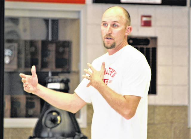 Ryan Stover is the new head boys basketball coach at Galion High School. He said he wants the Tigers to play an aggressive, up-tempo style when they take the floor for the 2021-2022 season.