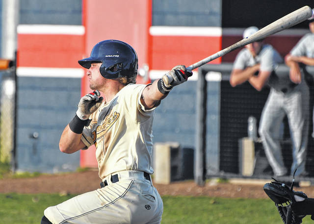 Avery Fisher helped lead the Galion Graders to a 10-9 win over the Sandusky Ice Haulers in the opening game of the 2021 Great Lakes Summer Collegiate League season on Friday, June 4, 2021, at Heise Park. The Bucyrus native went 4-for-5, scored three runs, and drove in a run — which proved to be the game-winning RBI.