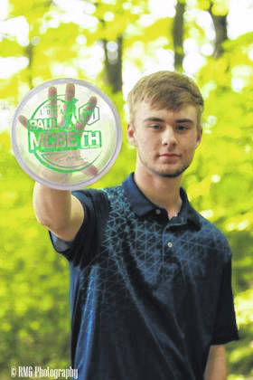 Jason Guthridge of Galion finished 34th in the Professional Disc Golf Association's Junior World Championships last week in Emporia, Kansas. It was his first major tournament in his two-plus years of competing in disc golf.