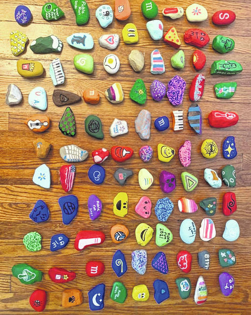 The Pickle Run Festival and Galion-Crestline Area Chamber of Commerce have teamed up to sponsor a community-wide rock hunt. People who find rocks will be entered into a drawing to win a bicycle at Third Friday In Galion on Friday, July 16.